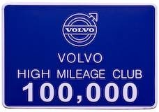 100,000 mile badge